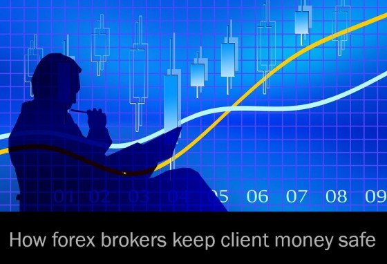 How forex brokers keep client money safe