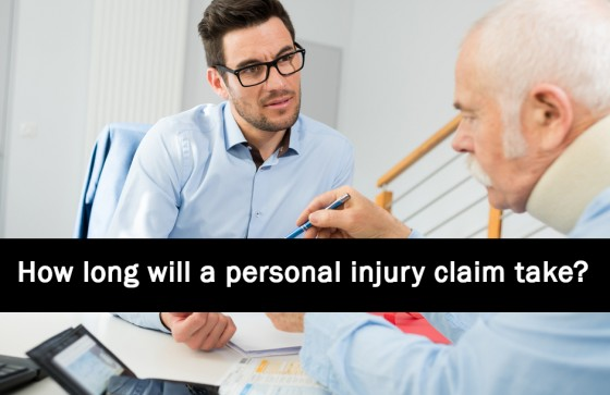 How long will a personal injury claim take