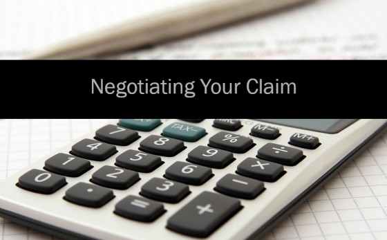 Negotiating Your Claim