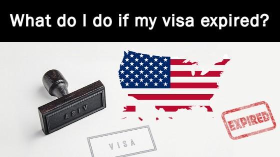 What do I do if my visa expired