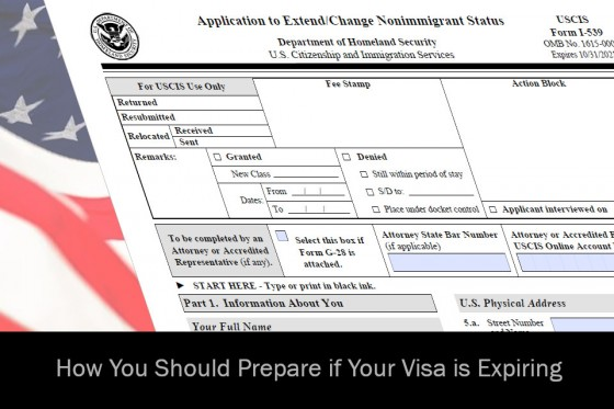 How You Should Prepare if Your Visa is Expiring