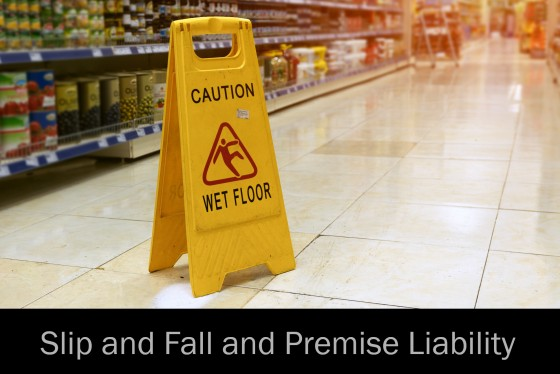 Slip and Fall and Premise Liability