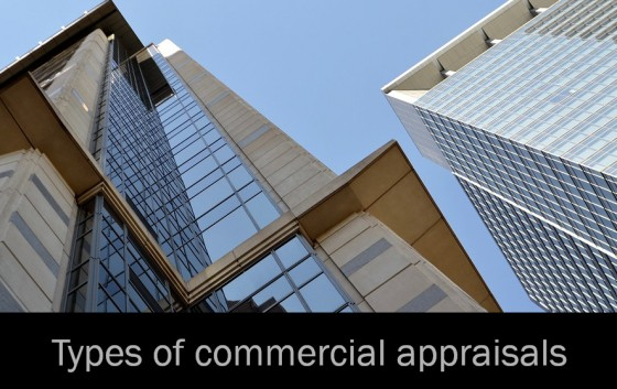 Types of commercial appraisals