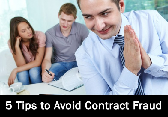 5 Tips to Avoid Contract Fraud