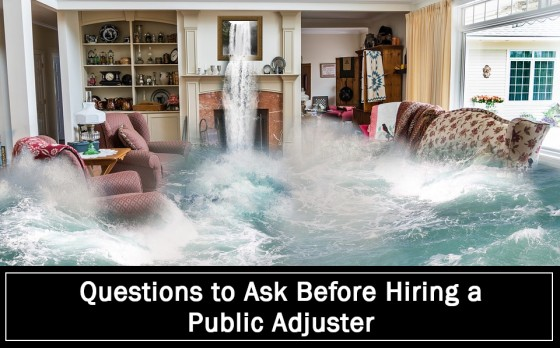 Questions to Ask Before Hiring a Public Adjuster