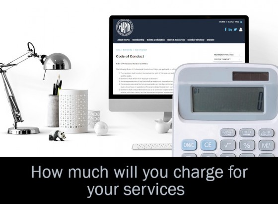 How much will you charge for your services