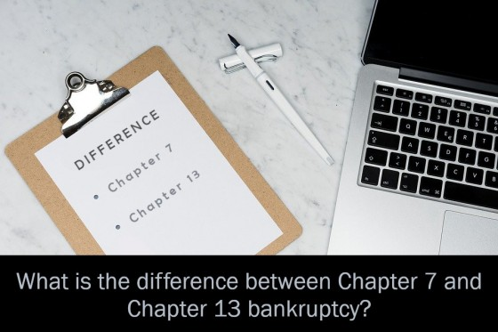 What is the difference between Chapter 7 and Chapter 13 bankruptcy