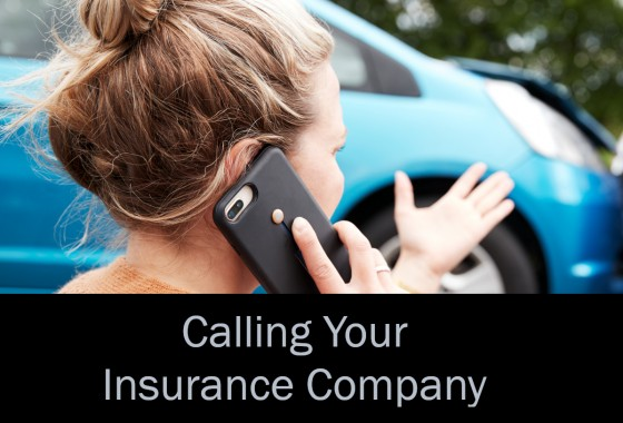 Calling Your Insurance Company