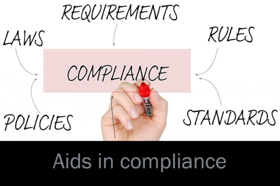 Aids in compliance