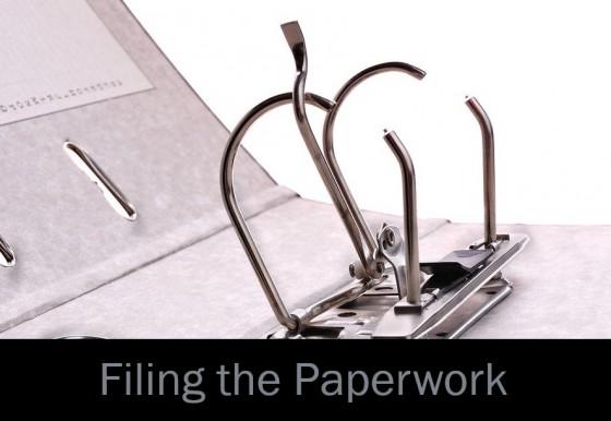 Filing the Paperwork