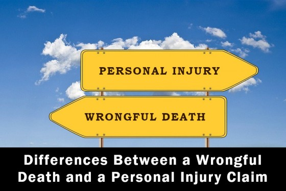 Differences Between a Wrongful Death and a Personal Injury Claim