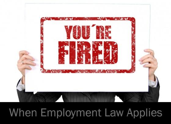 When Employment Law Applies