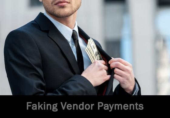 Faking Vendor Payments