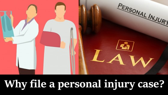 Why file a personal injury case
