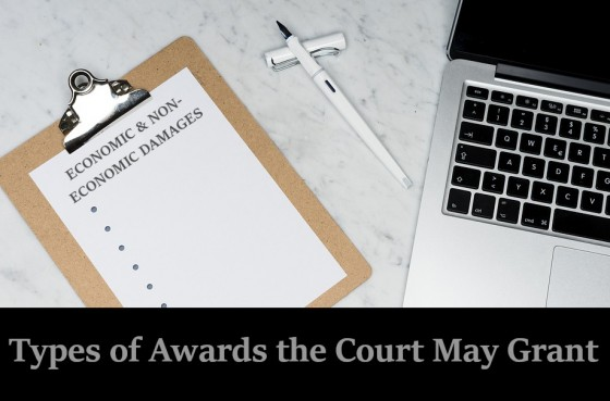 Types of Awards the Court May Grant