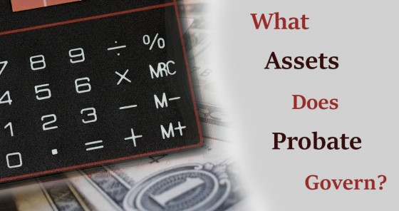 What Assets Does Probate Govern