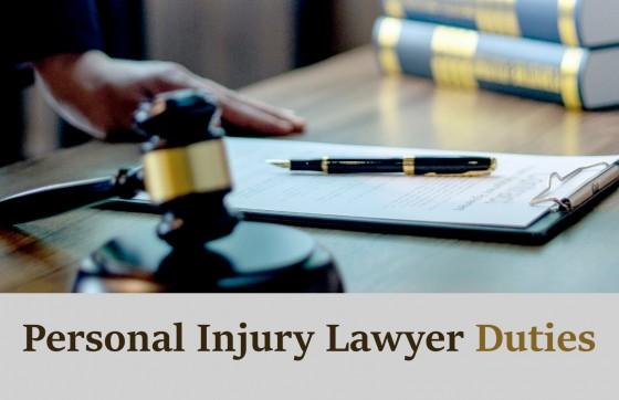 Personal Injury Lawyer Duties