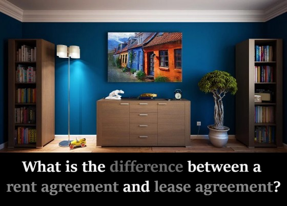 What is the difference between a rent agreement and lease agreement