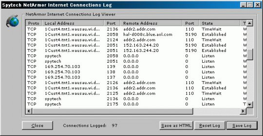 NetArmor Screenshot