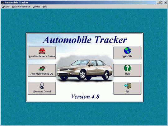 Automobile Tracker Screenshot