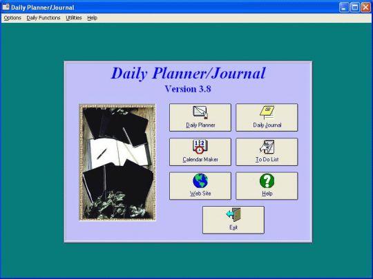 Daily Planner/Journal Screenshot