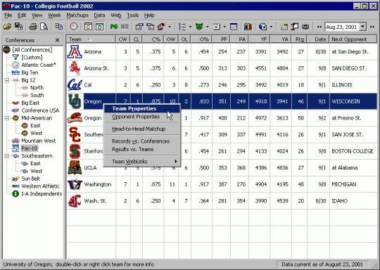 Collegio Football 2006 Screenshot