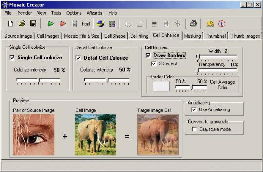 Mosaic Creator Screenshot