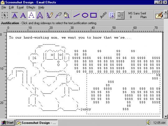 Email Effects Screenshot