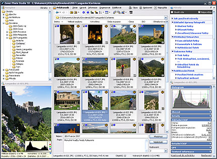 Zoner Media Explorer Screenshot