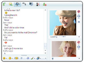 Windows Live Messenger (MSN Messenger) Screenshot