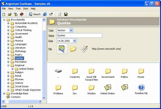 Argentum Coolbase Screenshot