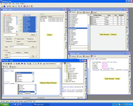 Database Gate Screenshot