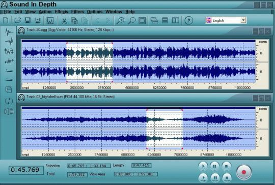 SID SoundInDepth Screenshot