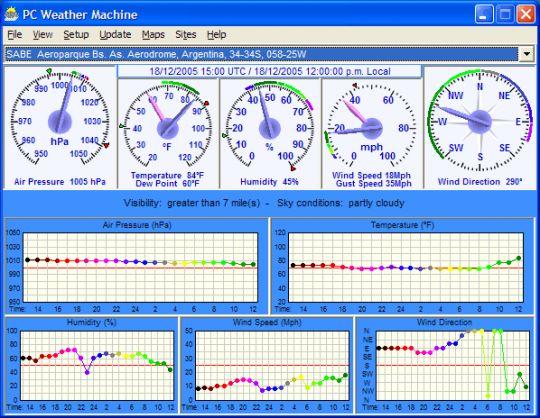 PC Weather Machine Screenshot