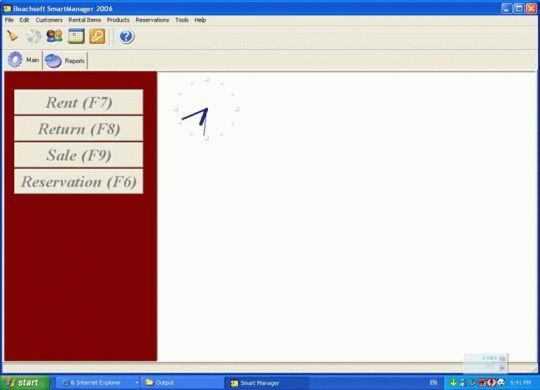 Boachsoft SmartManager Screenshot