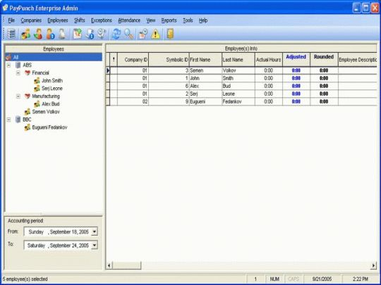 PayPunch Enterprise Screenshot