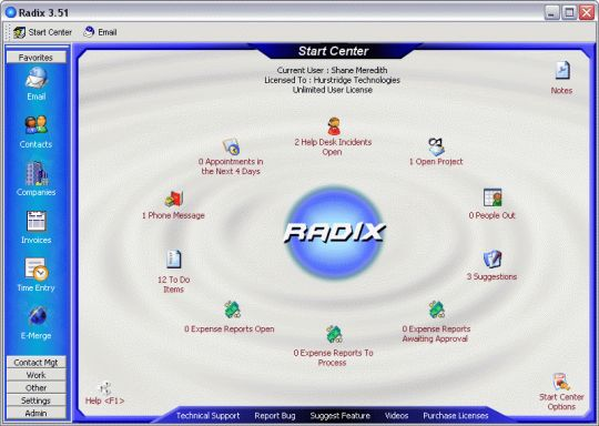 Radix Screenshot