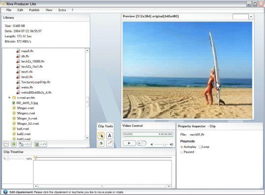 Riva Producer Lite Screenshot