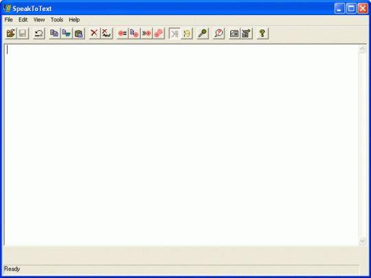 SpeaktoText Screenshot