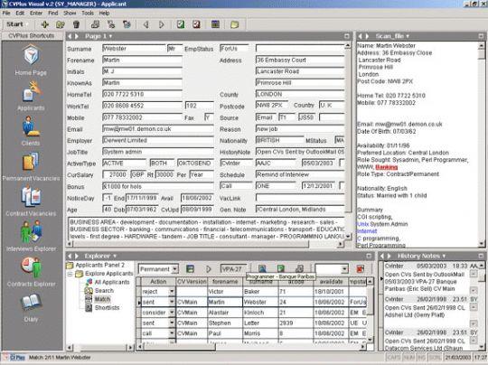 Swiftpro CVPlus Visual Screenshot
