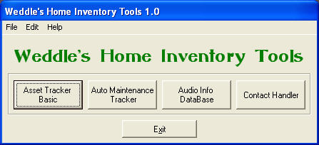 Home Inventory Tools Screenshot