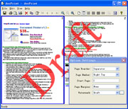 Document Printer (docPrint) Screenshot