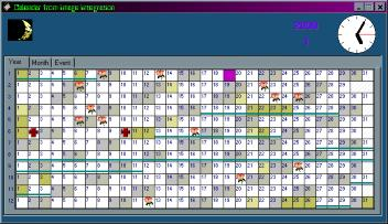 II_Calendar Screenshot