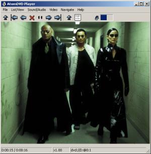 AtomDVD Screenshot