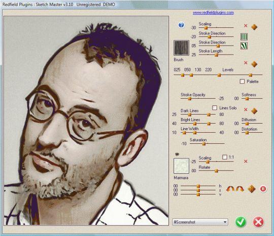 Sketch Master plug-in Screenshot