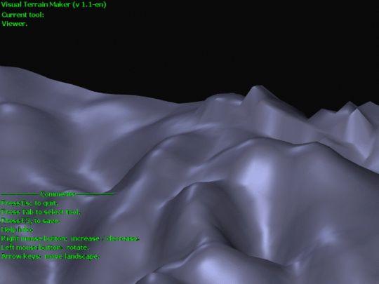 Visual Terrain Maker Screenshot