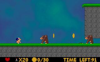 Gens Gold Mario Screenshot