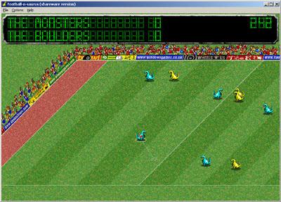 Football-o-saurus Screenshot