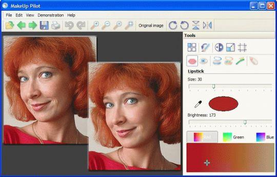 MakeUp Pilot Screenshot