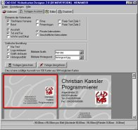 Business Card Printery Screenshot